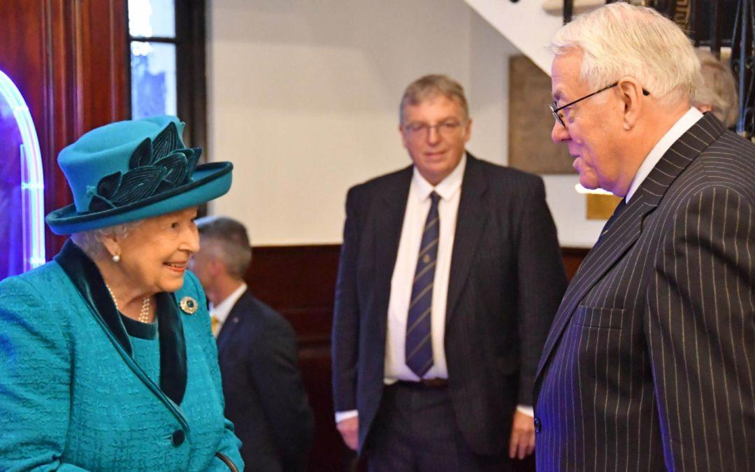 The Queen opens new RPSL headquarters