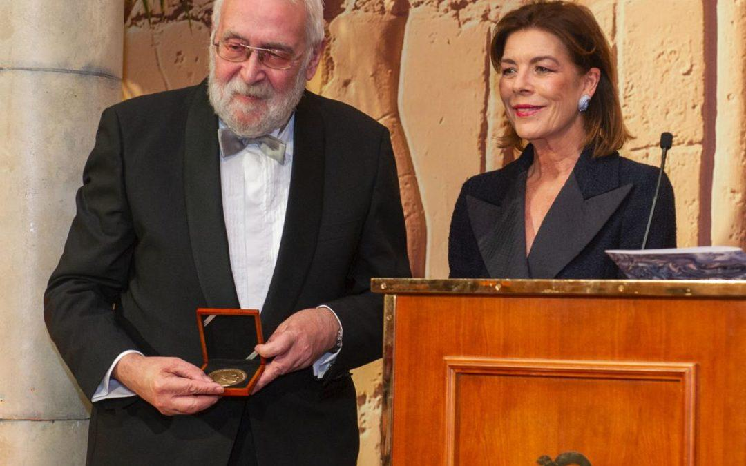 Princely Award for German Philatelic Historian W. Maassen