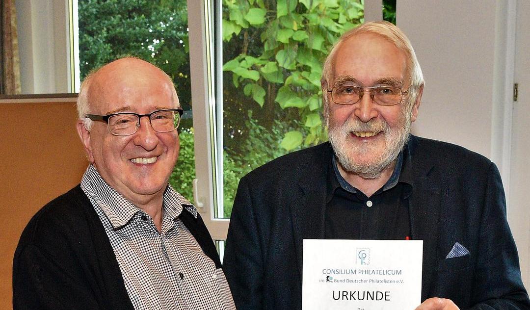 Günther Korn zum Vorsitzenden des Consilium Philatelicum gewählt!