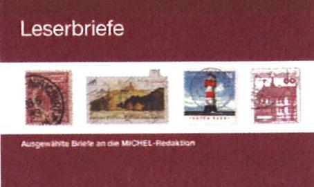 NEWLY PUBLISHED: Leserbriefe: Ausgewählte Briefe an die MICHEL-Redaktion