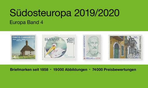 SHORTLY PUBLISHED: MICHEL Südosteuropa 2019/2020 (EK 4) South East Europe)