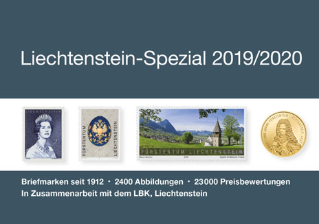 NEW PUBLISHED: Liechtenstein Special 2019/2020 (Michel)