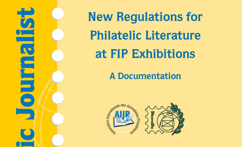 NEWLY PUBLISHED: Wolfgang Maassen: A new regulation for philatelic literature at FIP exhibitions