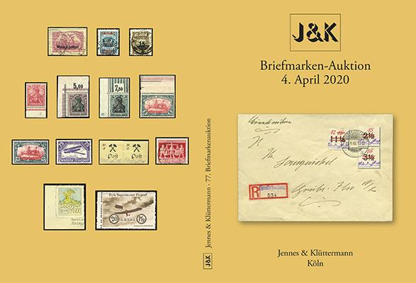 Jennes & Klüttermann-Auktion in Köln am 4. April 2020