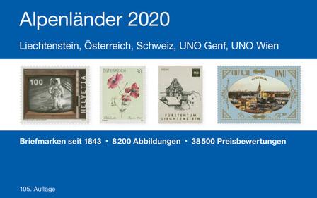NEU ERSCHIENEN: MICHEL Alpenländer 2020 (E 1)