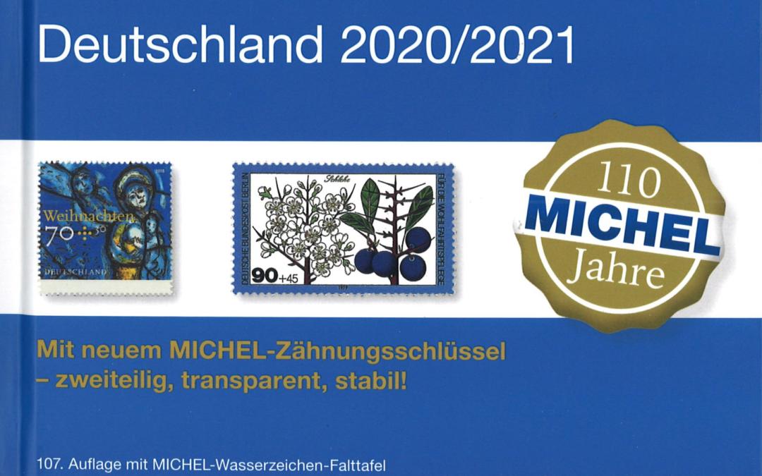 NEU ERSCHIENEN: MICHEL Deutschland 2020/2021