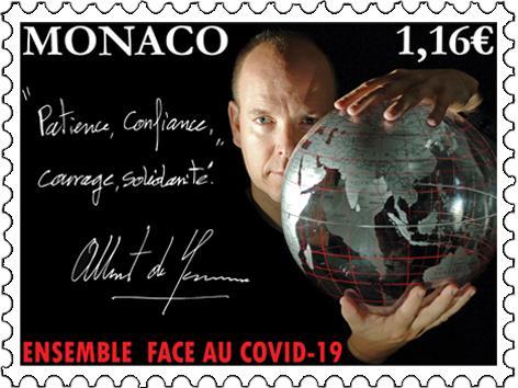 Ein fürstlicher Solidaritätsgruß aus Monaco