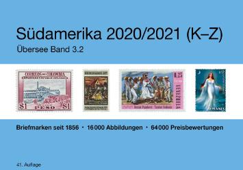NEU ab 7. August 2020: MICHEL Südamerika 2020/2021 K–Z (Ü 3.2)