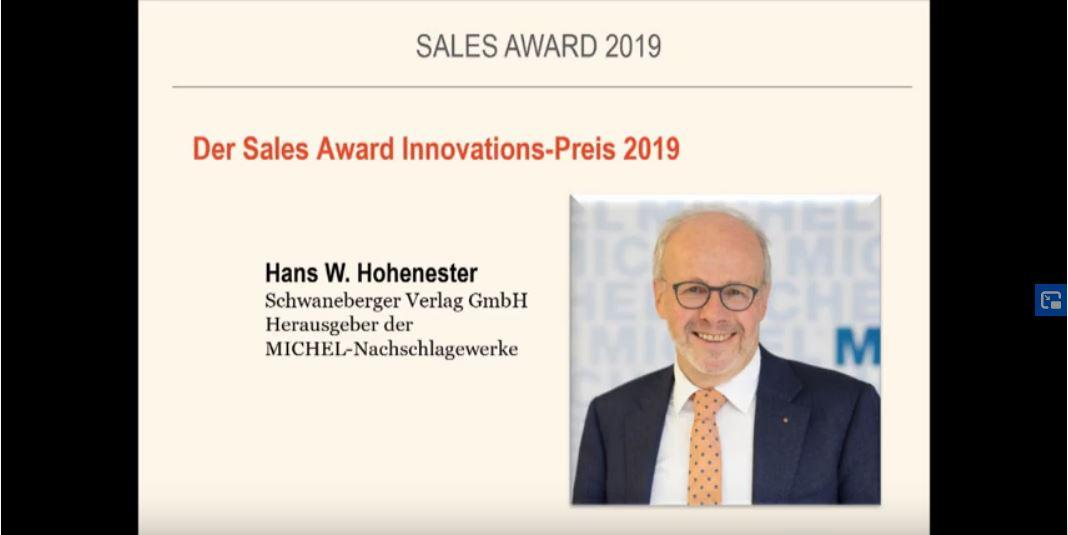 MICHEL gewint Sales Award 2019