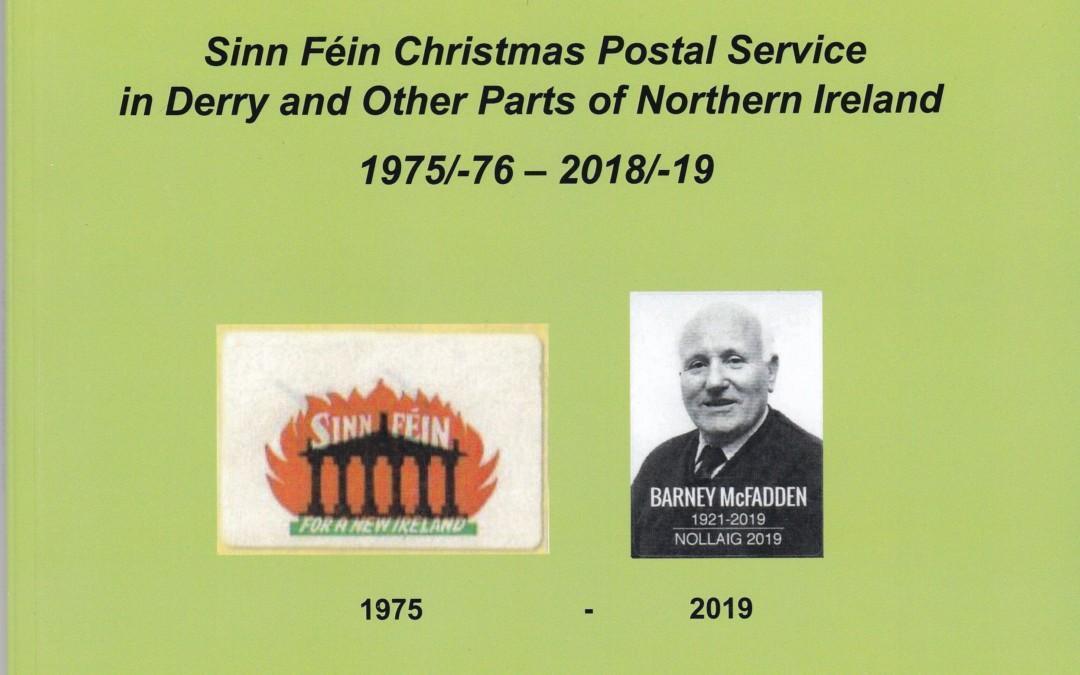 NEU ERSCHIENEN: KUMPF, Heinz-Jürgen, Sinn Féin Christmas Post Service in Derry and Other Parts of Northern Ireland 1975/-76–2018/-19