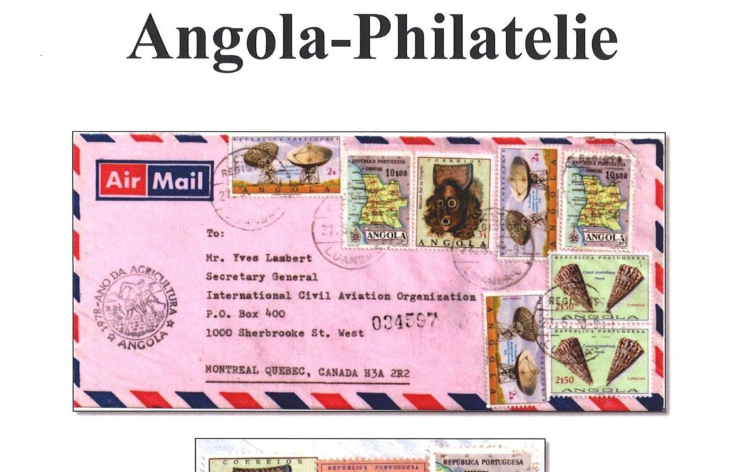 """BArGe Portugal publishes the eleventh issue of the free digital magazine """"Modern Angola Philately"""""""