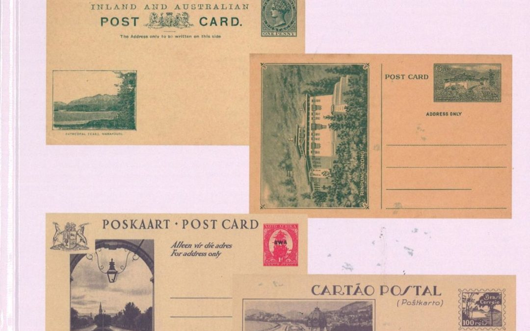 NEU ERSCHIENEN: Michael Bockisch: The Postal Stationary View Cards of Oceania, Asia, Africa, and the Americas. Handbook and Catalogue