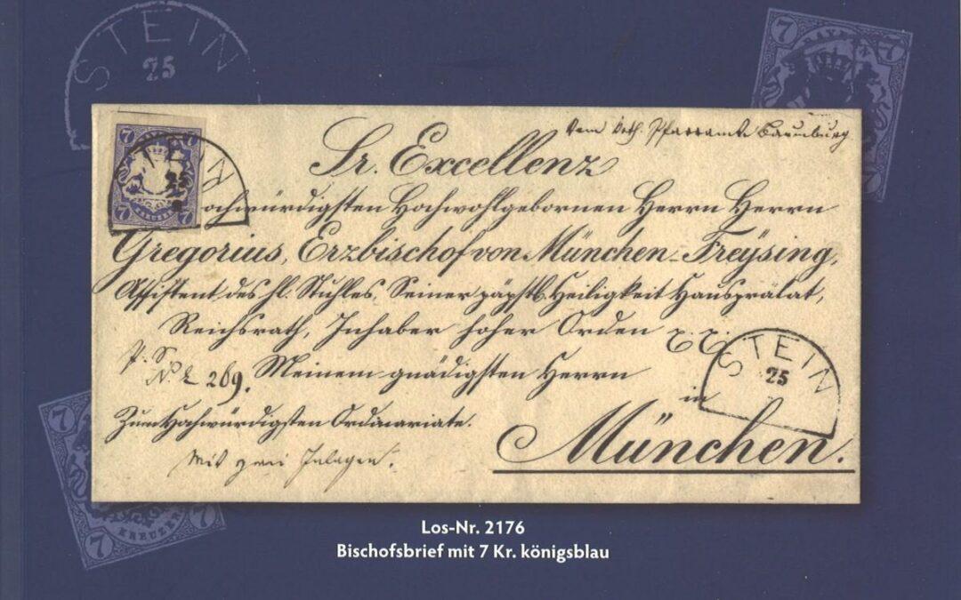 VORSCHAU: 66. DEIDER-Auktion in München am 22.– – 25. April 2020