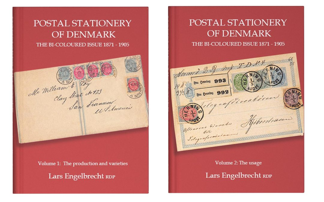 All about Danish bi-coloured postal stationery 1871 – 1905