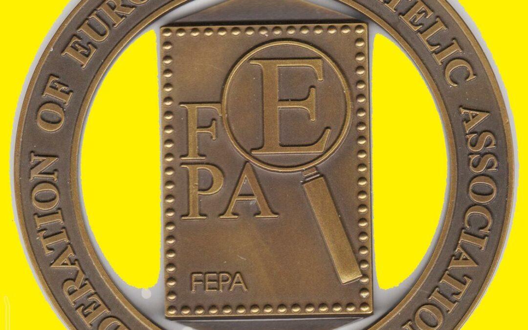 FEPA verleiht eine neue Medaille für die beste philatelistische Website