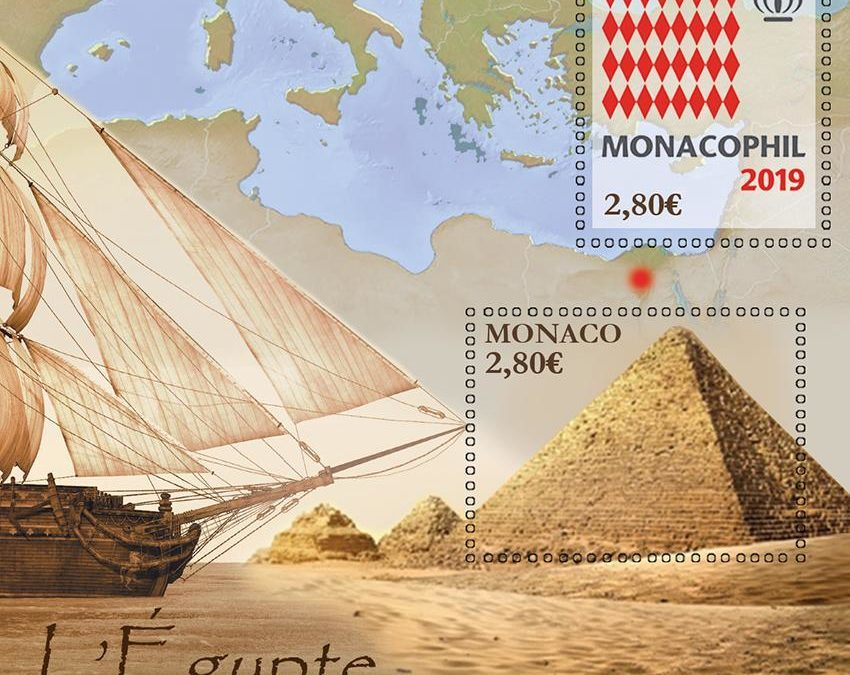 MonacoPhil opens its doors on 28 November! – Stampblock Monacophil / L'Egypte