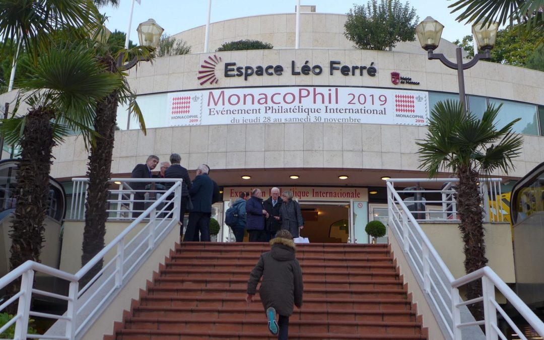 MONACOPHIL 2019: Egyptian brilliance in bright sunshine – 3 days of top-class philately