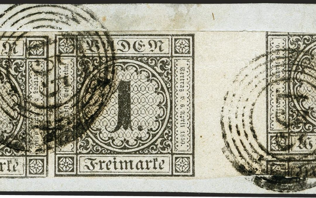 Unique treasures of the Old German States – The sale of the ERIVAN collection enters its second round!