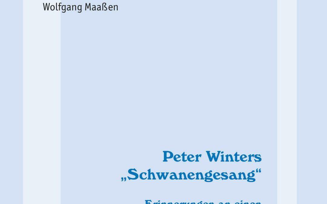 NEU ERSCHIENEN:                                                                                           Mehr als die Geständnisse eines Hochstaplers – Ein Buch über das Leben und Schaffen des legendären Briefmarkenfäschers Peter Winter