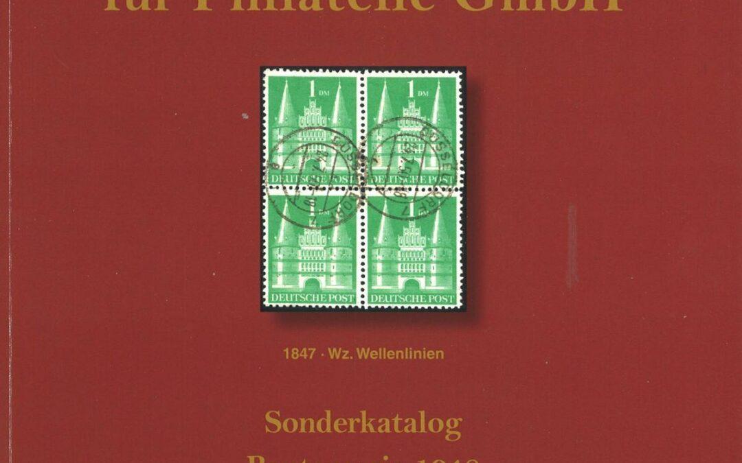 VORSCHAU: 25. Schlegel-Auktion am 28. Oktober 2019: Bautenserie 1948