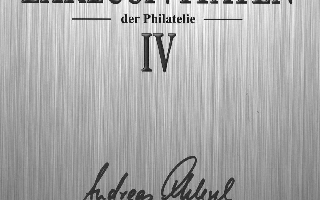 VORSCHAU: EXKLUSIVITÄTEN der Philatelie (IV) am 28. Oktober 2019 in Berlin