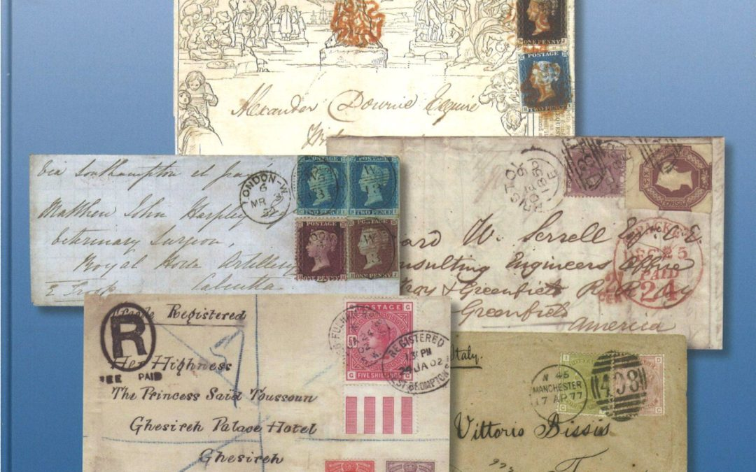 NEWLY PUBLISHED: Ray Simpson / Karl Louis: Great Britain Victorian Mixed-Franking Covers illustrating Postage Stamp Development