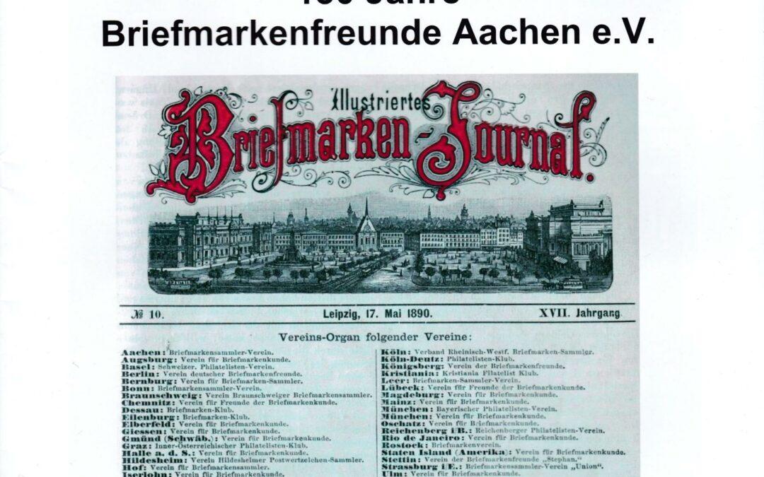 NEW BOOK: Die Philatelie in Aachen & 130 Jahre Briefmarkenfreunde Aachen e.V. by Wilhelm van Loo