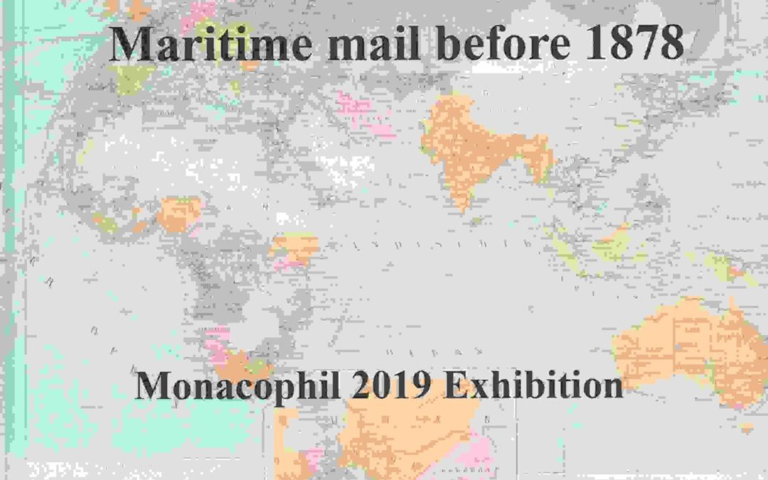 WIJNANTS, Paul, Beyond the Sea. Maritime mail before 1878.